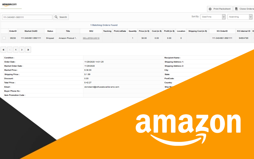 Data Protection Policy & Amazon PII